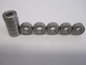 20x Kugellager MR115 ZZ 5x11x4 mm Miniaturkugellager Rillenkugellager Wälzlager