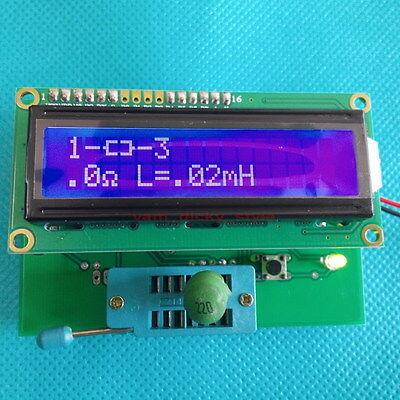 Transistor Diode Tester Capacitor ESR Inductance Inductor Resistor Meter