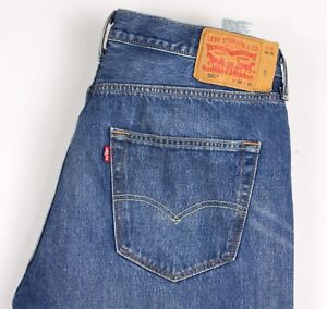 Levi's Strauss & Co Hommes 501 Jeans Jambe Droite Taille W36 L30 BCZ984