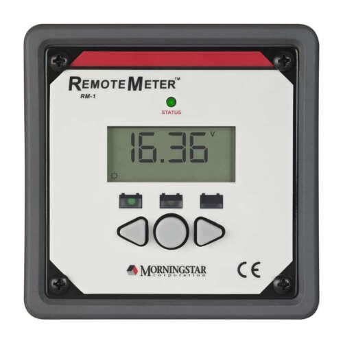 Morningstar RM-1 Remote Meter for SunSaver-MPPT SureSine and SunSaver-Duo