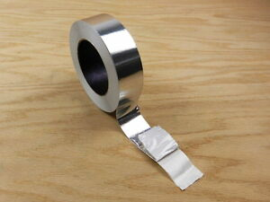 "2"" Aluminum Foil Tape HVAC Heat Shield Duct Sealing Self Adhesive 150' 50 yd"