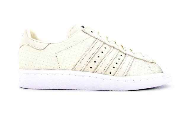 ADIDAS SUPERSTAR 80s WOVEN SNEAKERS PANNA S75006