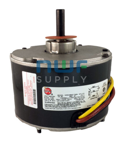 Genteq GE Replacement Condenser Fan Motor 5KCP39BGS162S 1//12 HP 208-230v