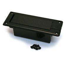 Side Mount 9 Volt Battery Box for Active Preamp Guitar/Bass EP-BOX-SM