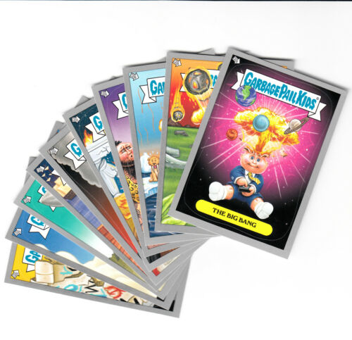 2012 TOPPS GARBAGE PAIL KIDS BNS 1 ADAM BOMB SILVER CARD SET THROUGH OUT HISTORY