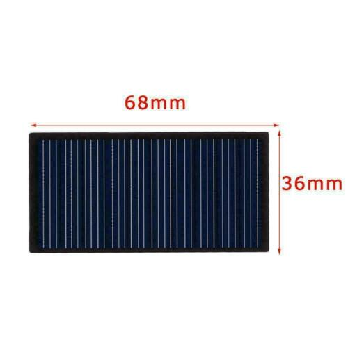 5V Mini Solar Panel System For DIY Battery Cell Phone H1M7 Charger P4N3