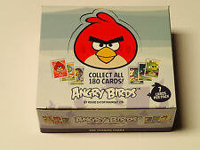 ANGRY BIRDS Box of 24 packs, 7 trading cards per pack! Rovio Entertainment