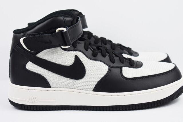 037 Af1 Size Air Shoes 07 Mid Multi Mens Force 1 Nike 315123 Black White xerdCBo