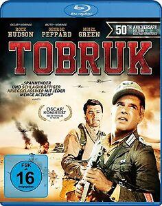 TOBRUK-Rock-Hudson-George-Peppard-Nigel-Green-Blu-ray-Disc-NEU-OVP