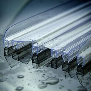 6mm~10mm  DOCCIA RICAMBIO VETRO GUARNIZIONE PROFILO BOX GOMMA U/F/H/Angolo