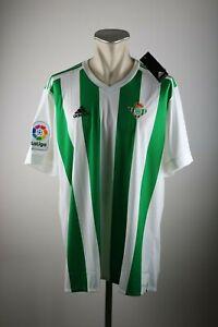 Betis-Sevilla-Trikot-Gr-XXL-2017-2018-Real-Betis-Balompie-Shirt-Home-Jersey-2XL