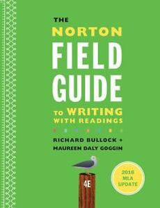 Norton Field Guide To Writing Pdf