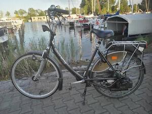 Fahrrad mit Hilfsmotor Hercules Saxonette Luxus Mofa Kein E-Bike Versand möglich