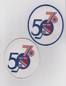 LOT-OF-TWO-NEW-YORK-RANGERS-50TH-ANNIVERSARY-PATCH-BLUE-AND-WHITE-JEREY-PATCHES