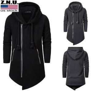 Men-Hooded-Zipper-Jacket-Goth-Punk-Hoodie-Outwear-Assassins-Coat-Cosplay-Costume