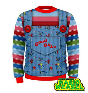 Good Guys Chucky Sweatshirt Replica Costume Halloween EBay - Good guys sweatshirt
