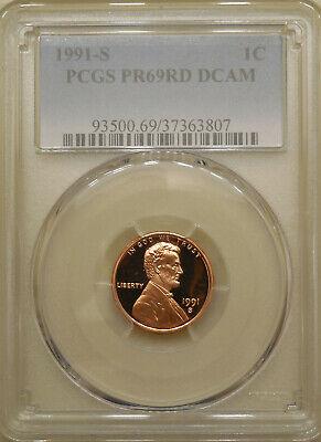 2000 S Proof Lincoln Memorial Cent PCGS PR 69 RD DCAM Red Deep Cameo