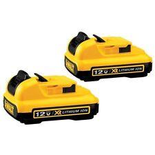DEWALT DCB127-2 12-Volt Max Lithium-Ion Battery Pack (2-Pack)