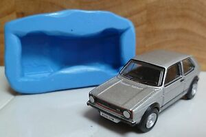 3D-VW-GOLF-GTI-CAR-SILICONE-MOULD-FOR-CAKE-TOPPERS-CHOCOLATE-ETC