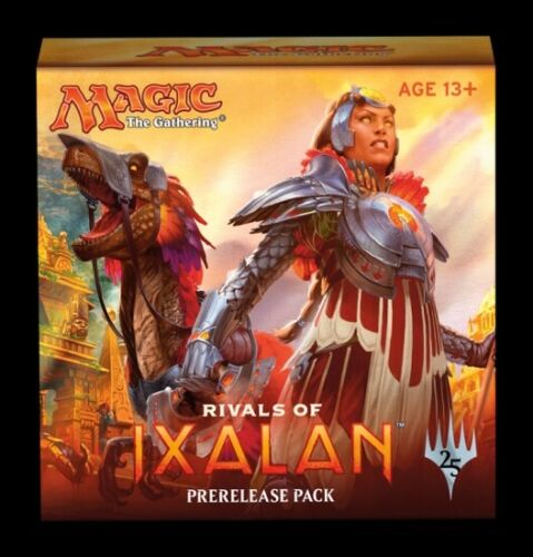 1x  Rivals of Ixalan Prerelease Kit New Sealed Product The Gathering Magic