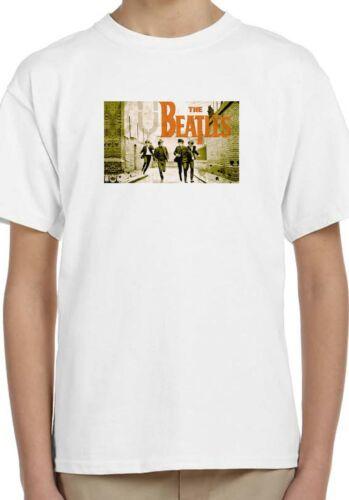 The Beatles Music Band Holiday Enfants Unisexe Cadeau d/'anniversaire t-shirt 112
