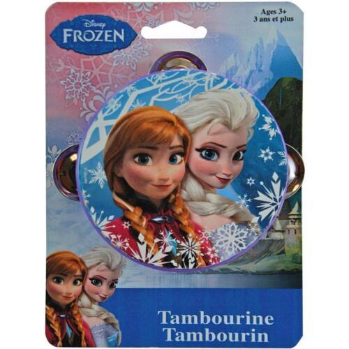 Disney Frozen Anna Elsa Princess Toy Birthday Party Favor Instrument Tambourine