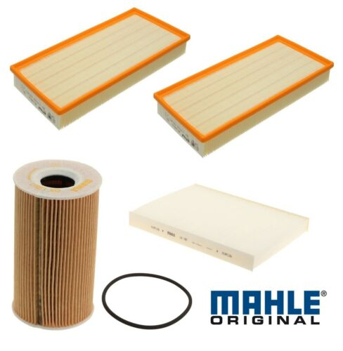 Mahle OEM Air Cabin Air and Oil Filter Kit For Porsche Cayenne 4.5L V8 2003-2006