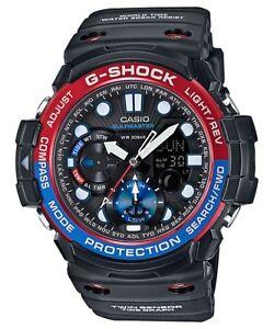 Casio-G-Shock-Gulfmaster-Analogue-Digital-Mens-Twin-Sensor-Black-Watch-GN1000-1A