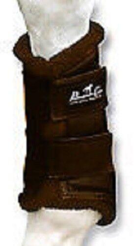 Professional's Choice botas de projoección de cuero valor 4 Paquete de Chocolate XL Prof