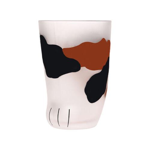 Creative Cute Cat Paws Glass Tiger Paws Mug Office Coffee Mug Tumbler Perso I5Y5