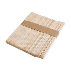Dimensioni-standard-in-legno-naturale-Lecca-lecca-bastoni-Lolly-Pop-PLAIN-CONFEZIONE-DA-50