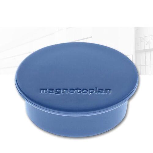 magnetoplan Rundmagnet dunkelblau 0,57€//Stück Ø 40mm 10er Pack