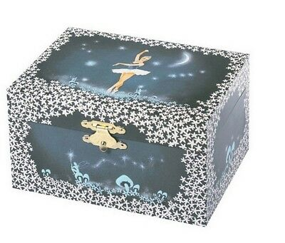 Blue And Night Choice Materials Trousselier S50070 Music Box With Balerina Large Baby
