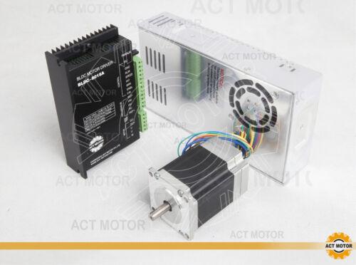 ACT MOTOR GmbH 1Axis 57BLF01 3000RPM 63W+Driver BLDC-8015A-5+PSU 350W 24V