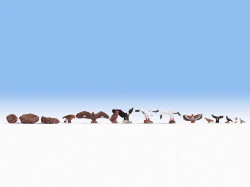 Figuren Vögel #NEU in OVP## NOCH 15775 Spur H0