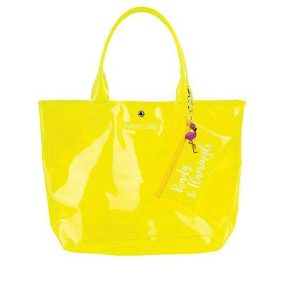Sunnylife Market Bag Neon Yellow