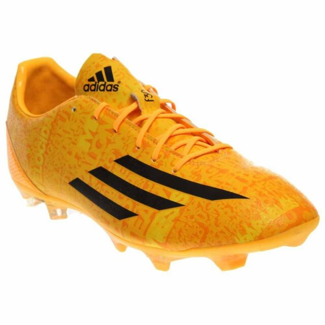 online retailer 5f4ab bd104 adidas F30 FG Messi Soccer Cleats - Yellow - Mens