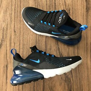 Details about A1014G Nike Air Max 270 Black Blue AH8050 019 Mens Sneakers Size 10.5 NEW