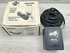 Vintage Geisha Model Ps 6 Power Supply For 24 Volt Lites Low Voltage