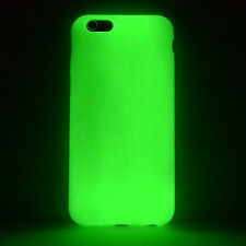 Apple iPhone 6 6S Plus Day'n'Night Glow Case Silikon TPU Hülle Cover grün A9