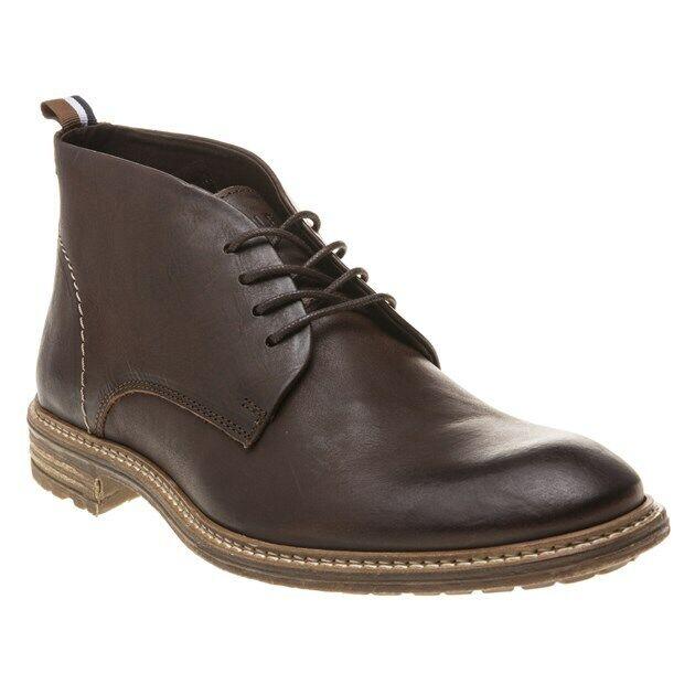 stivali in pelle.con lacci uomo leather