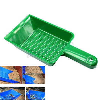 Reptile Terrarium Aquarium Litter Poop Scoop Sand Sieve Cleaning Tool Kit