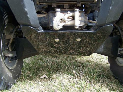"""Brute Force A arm guards /& Front to Rear skid plate package 1//4/""""  HDPE all yrs"""