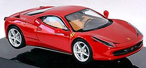 Ferrari 458 Italie Coupé 2009-16 Rouge 1:43 Hot Wheels Elite