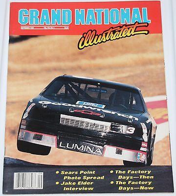 GRAND NATIONAL ILLUSTRATED SEPTEMBER 1989 DALE EARNHARDT SR #3 COVER JAKE ELDER