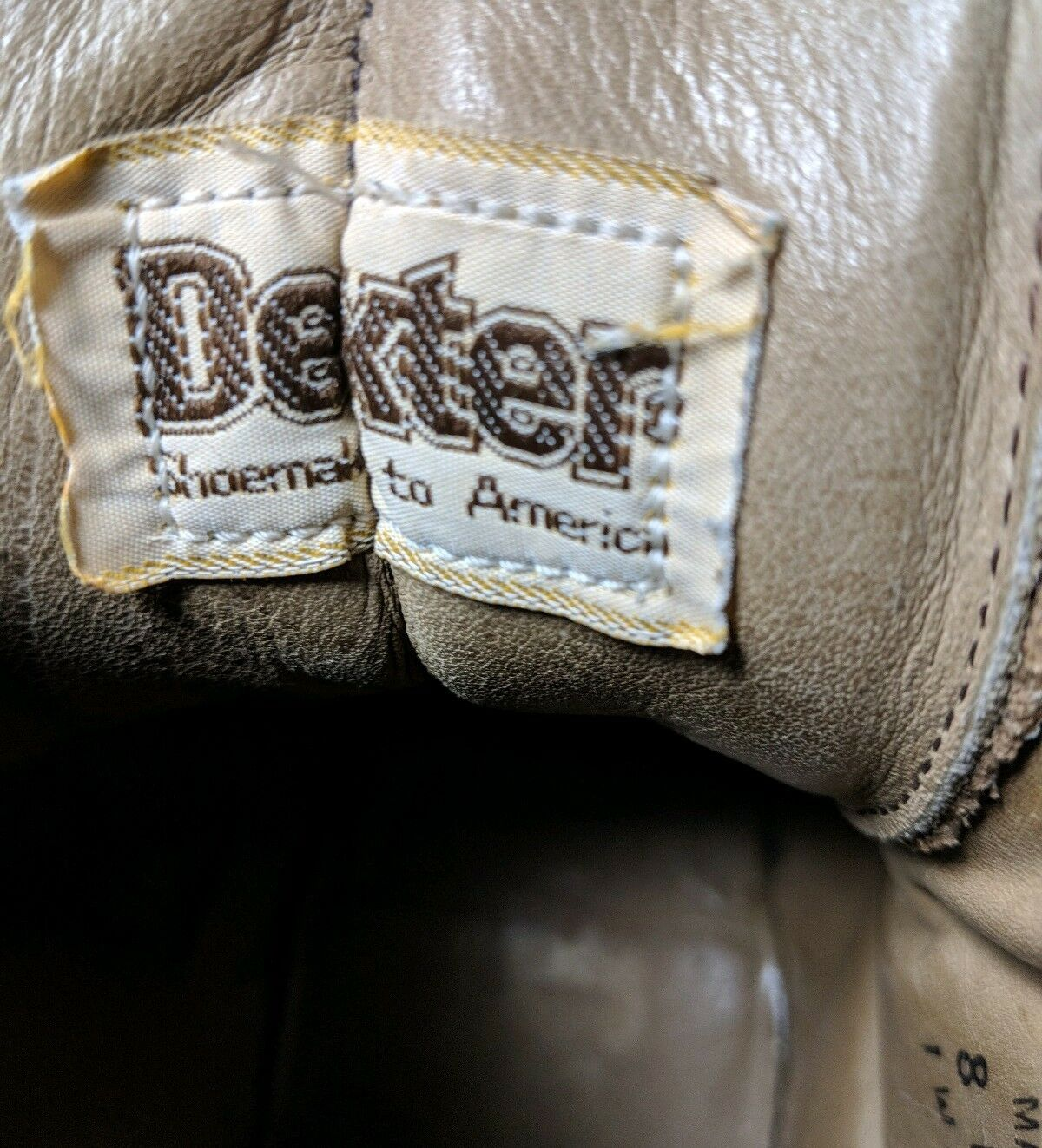 1970s DEXTER DEXTER DEXTER Vintage Lace-to-toe Backpacking Mountaineering Stiefel 8 M 3908e7