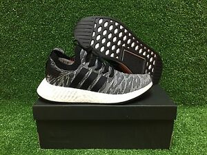 super popular 262ad f664d Details about NEW ORIGINAL ADIDAS NMD R2 PK NOMAD BOOST MEN'S SHOES CORE  BLACK ORANGE BY9409