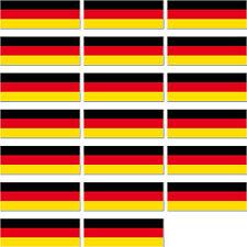 20 Aufkleber lang Sticker BRD Deutschland Länder Fahne Flagge lang RC Modellbau