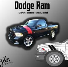 Dodge Ram Hash Mark Stripes Vinyl Decal Graphics Kit 1500 2500 3500 Diesel Truck