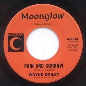 Details about NORTHERN SOUL - WAYNE DAILEY - WRECK OF A MAN - MOONGLOW  LABEL - 1966